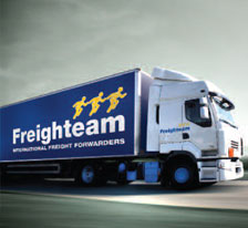 Freighteam daily service to Ireland