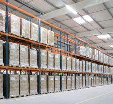 One of Freighteam's 80 depots throught the UK